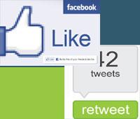 Лайки фейсбука приносят больше траффика, чем твиты (исследование)