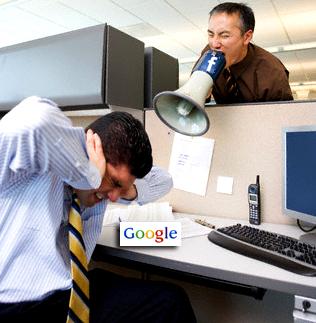Facebook и Google: подружиться не получилось