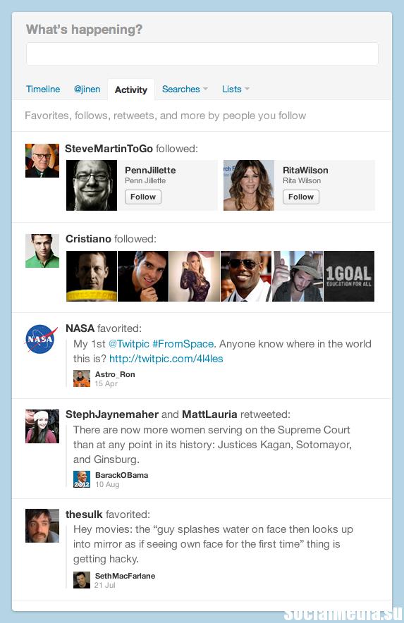 Twitter раздвоился