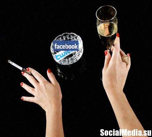 Кто не курит и не пьет, тот в соцсетях здоровье надорвет
