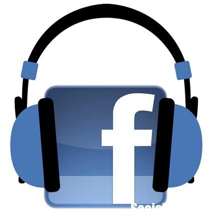 Музыкантов на Facebook можно послушать нажатием кнопки Listen