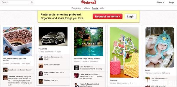 Социальную сеть Pinterest интересует лидерство на рынке