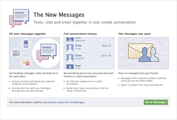 Пользователи Facebook получат именной Email @facebook.com