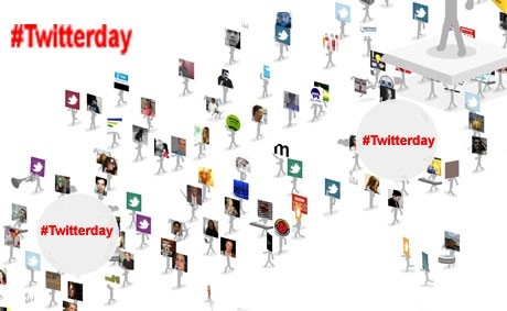 Twitterday: праздник на твиттерянской улице