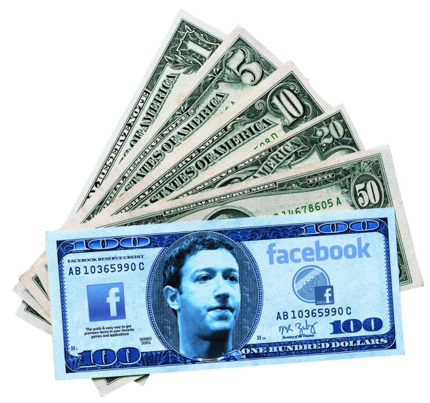 За доставку сообщения знаменитостям в Facebook придется заплатить